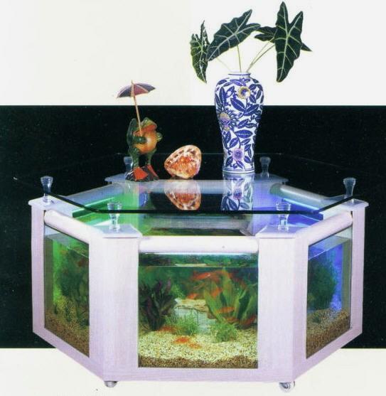 C mo embellecer una habitaci n con una mesa acuario for Disenos de acuarios