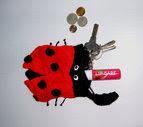 Ladybug Purse - $1.50 USD
