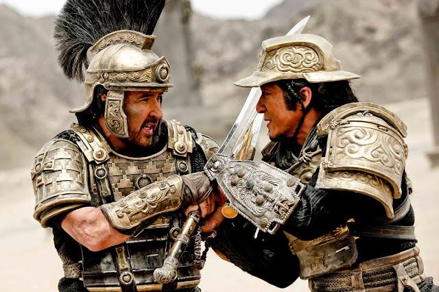 dragon blade still john cusack vs. jackie chan