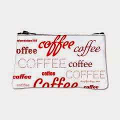 Magic Coffee Fonts Coin Purse