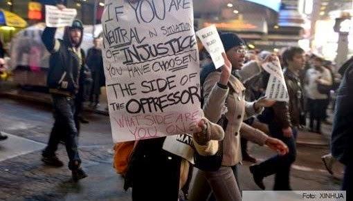 """""""13 D"""" RECHIFLE  EN USA -Marcha nacional en EE.UU. contra brutalidad y racismo estatal"""