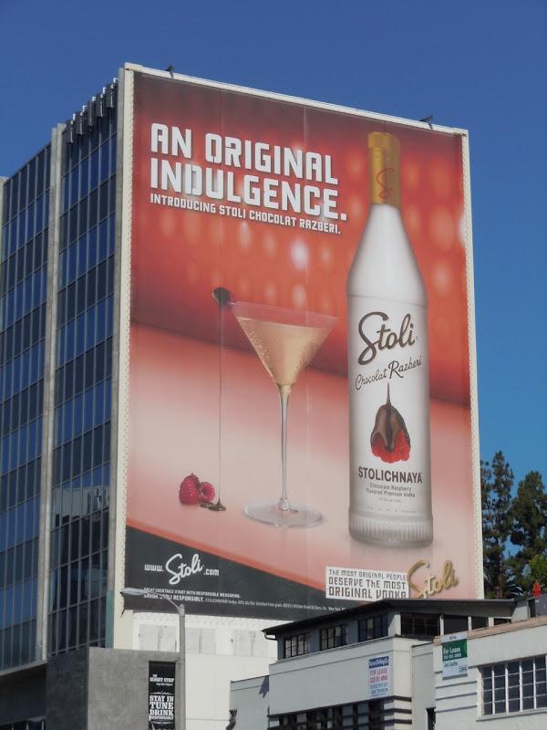 Chocolat Razberi Stoli billboard