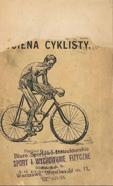 """Okładka książki """"Hygena cyklisty"""""""