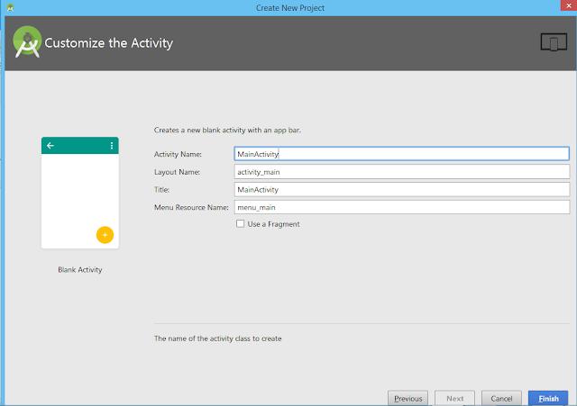 انشاء ةتسغيل اول, تطبيق اندرويد, على, اندرويد استديو ,Android Studio