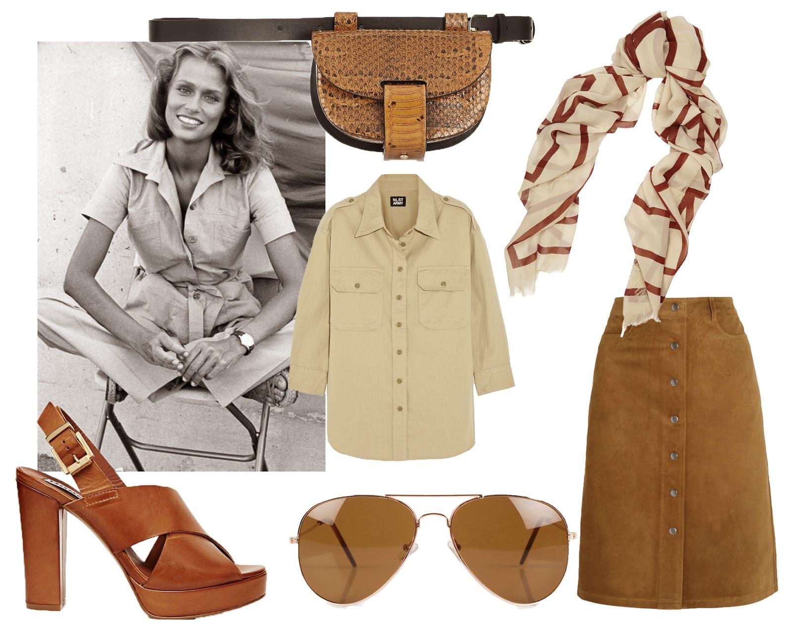 1970s safari fashion ss15