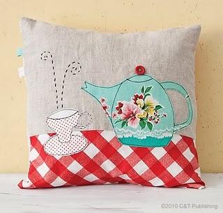almofada de bule -  Patchwork Pottery