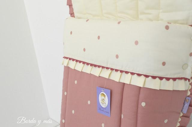 Funda rosa y beige para Bugaboo Camaleon 3