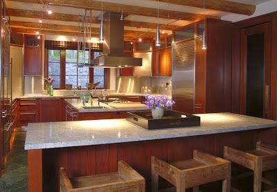 Desain Interior Dapur Modern Minimalis 2015