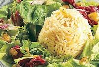 Salada de Macarrão com Alho-Poró (vegana)