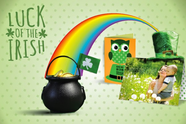 St. Patrick's Day banner designed by GotPrint