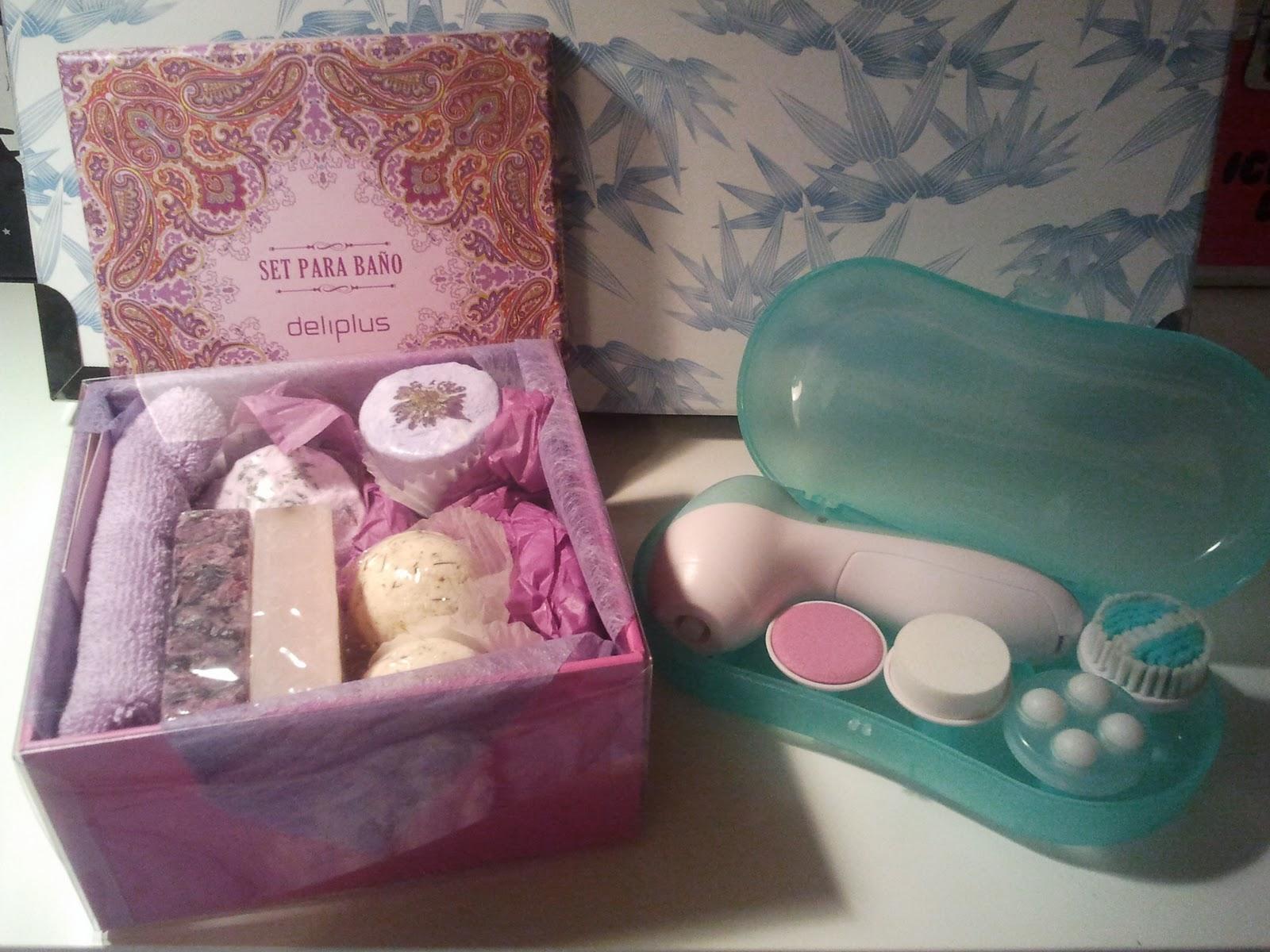 Set De Baño Mercadona:set para el baño de deliplus que viene en esta bonita caja y trae