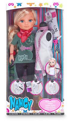 TOYS : JUGUETES - NANCY  Diseña la moda : Estilista | Muñeca  Famosa 2015 | A partir de 4 años  Comprar en Amazon España