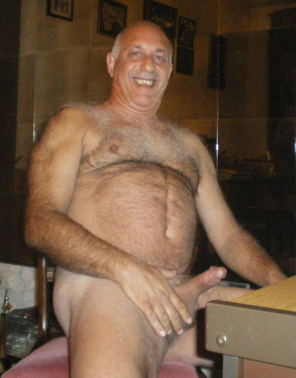 hairy senior hard dicks - gay mature men