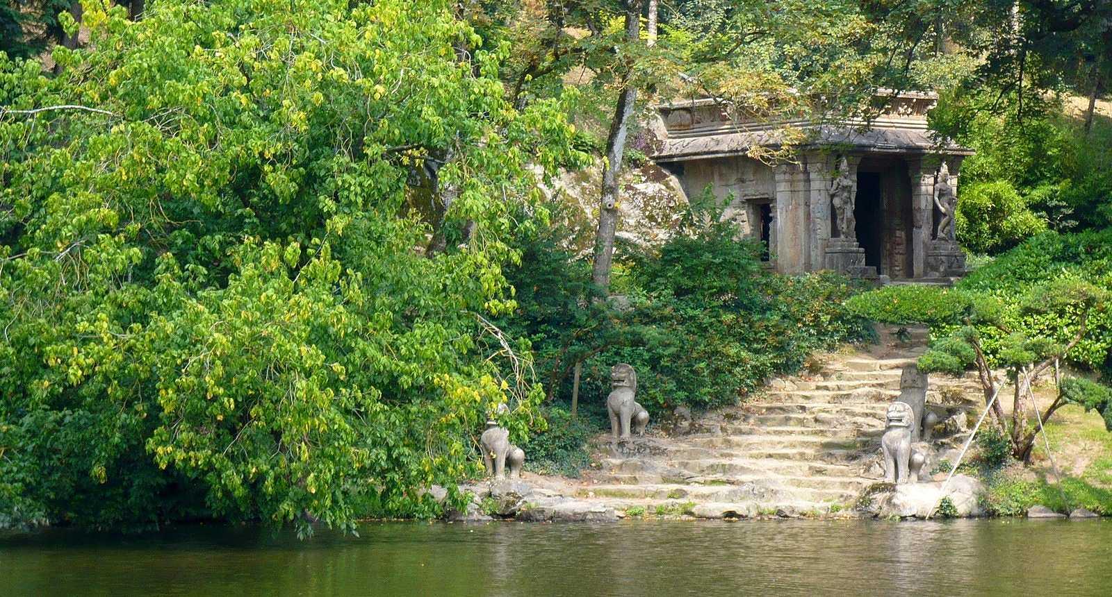 Matin lumineux jardin oriental de maul vrier for Jardin oriental