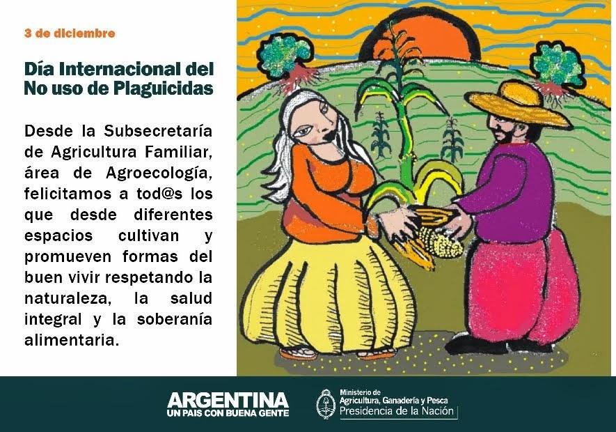 3 de Diciembre: Día Internacional del No uso de Plaguicidas