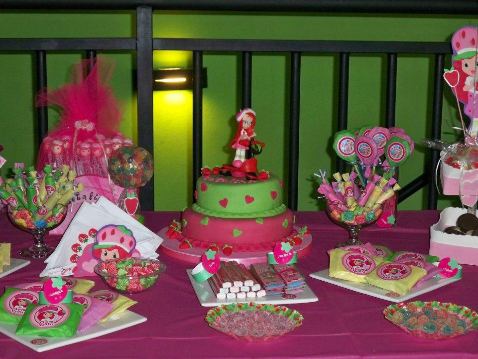 Cumpleaños tematicos de frutillitas - Imagui