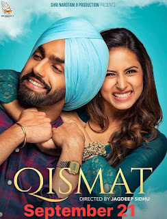 Qismat 2018 Punjabi Movie HDTvRip | 720p | 480p
