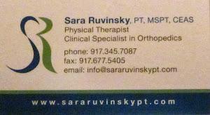 Sara Ruvinsky, PT