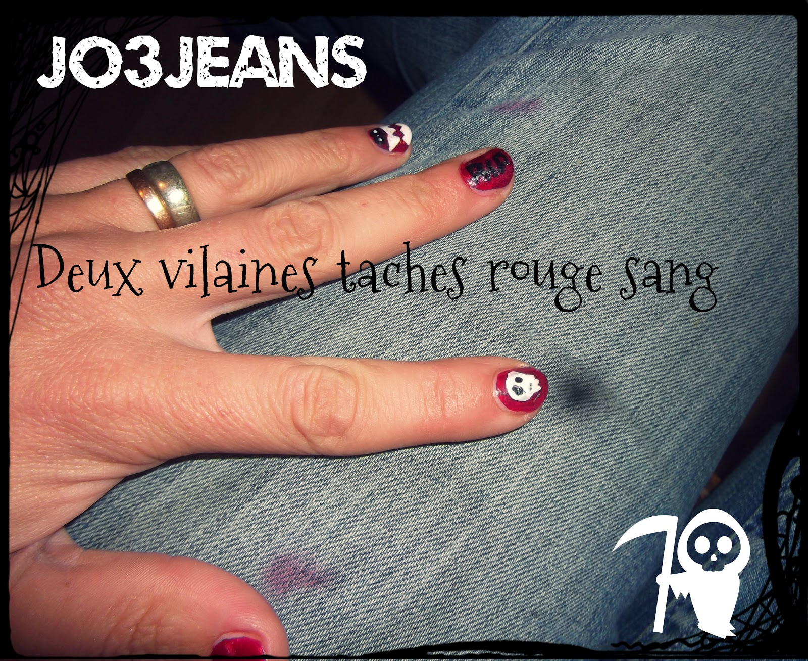jo3jeans halloween snb des fant mes sur mes ongles et meurtre de mon jean f tiche. Black Bedroom Furniture Sets. Home Design Ideas