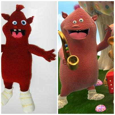 Amigurumi Baby Tv : Yaseminkale: amigurumi Baby tv Cuddlies (sevimliler)