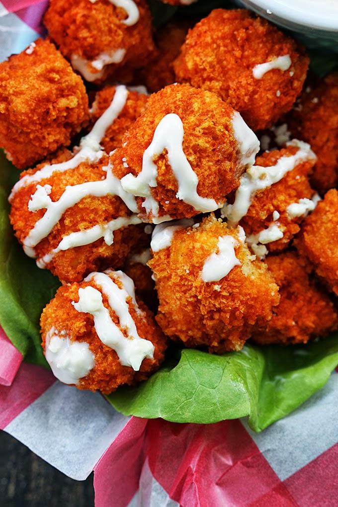 Buffalo Popcorn Chicken Recipe
