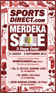 SportsDirect.com Merdeka Sale 2012