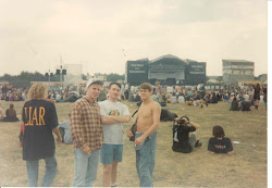 At the Reading Festival in 1993
