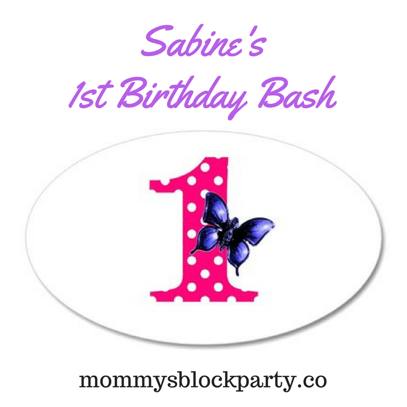 Sabine's 1st Birthday Bash