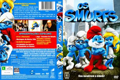 Os Smurfs O Filme DVD Capa