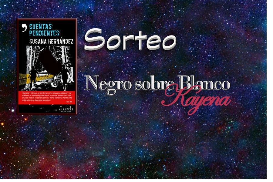 Sorteo en el Blog Negro sobre Blanco