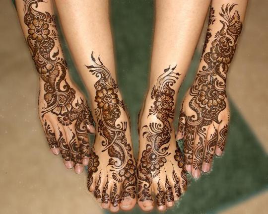 arab bridal makeup. Mehndi Designs Arabic Style
