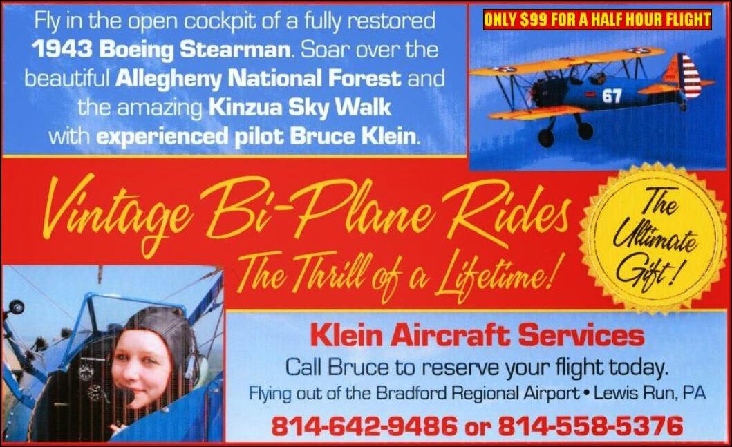 Vintage Bi-Plane Rides