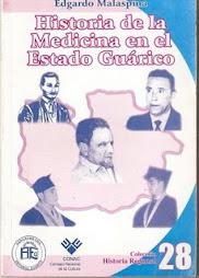 LIBRO NRO 11. HISTORIA DE LA MEDICINA EN EL ESTADO GUÁRICO