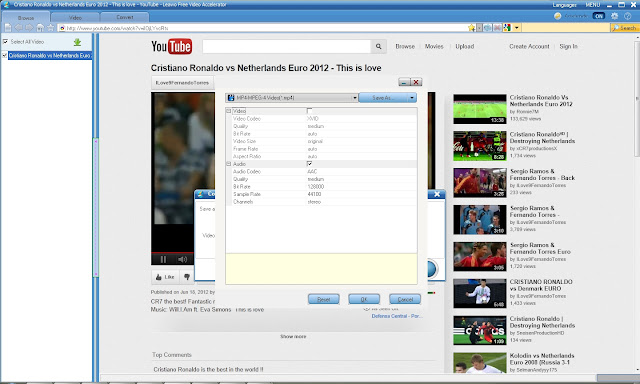 download Euro 2012 videos