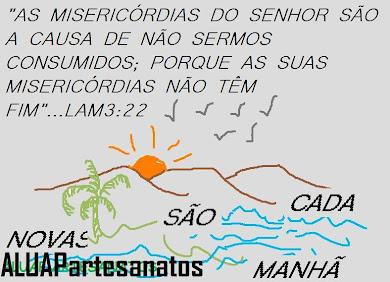 NOVAS SÃO CADA MANHÃ