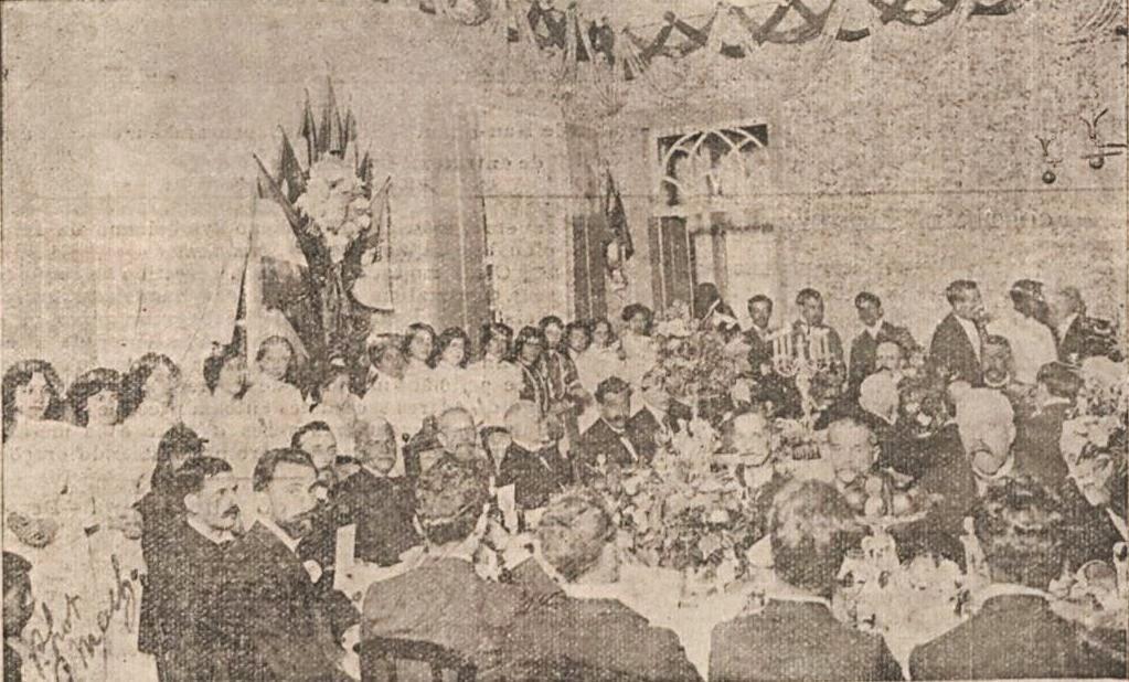 VISITA PRESIDENTE RODRIGUES ALVES EM BARBACENA 1904