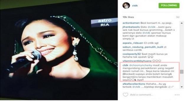 Dato Siti Nurhaliza Bidas Komen Biadap Tentang Kehamilannya dengan Cara Paling DEEP