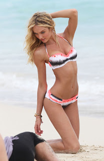 Candice Swanepoel Photoshoot, Victoria's Secret Photoshoot
