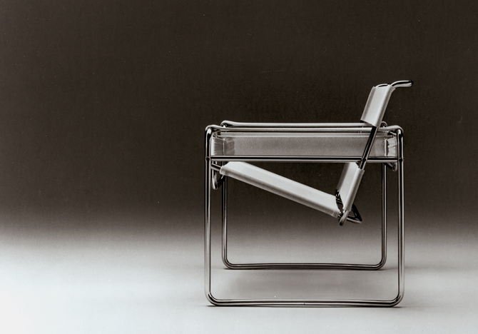 austin cubed marcel breuers wassily chair