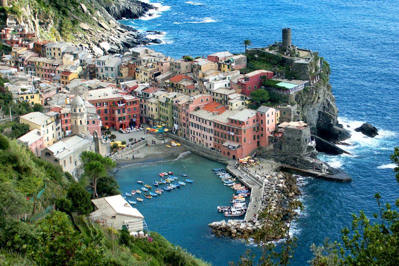 Senhora Viagem Toscana Rumo A Cinque Terre