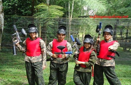 Paintball Rafting Magelang