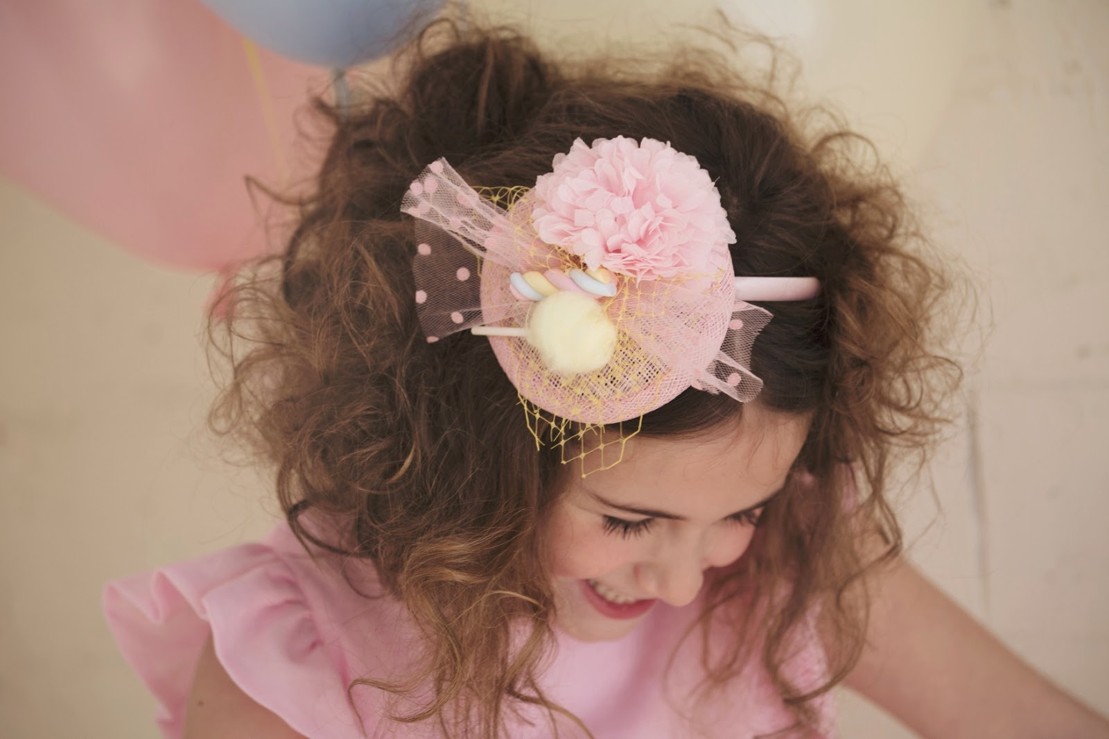 Candy: Accesories by María Fort García #tocados y accesorios para niña