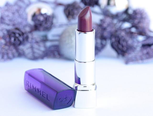 Rimmel Moisture Reniew Lipstick in Slone's Plum