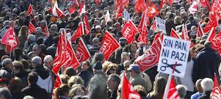 En España amplio rechazo en la calle a la reforma