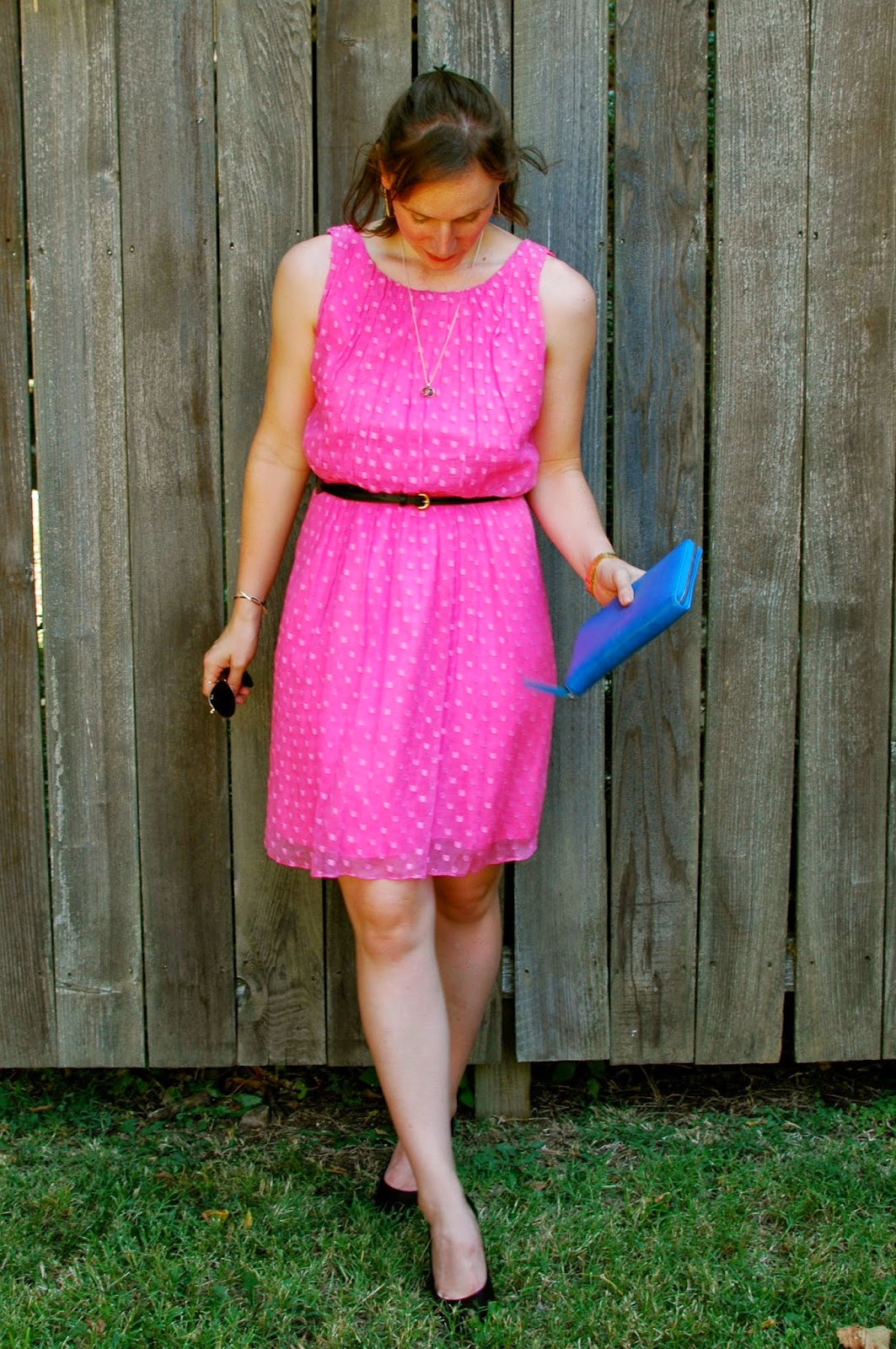 Summer Style, Leona NY Dress, Lili Radu Clutch, Raybans, Nashville Style, Christina Kober