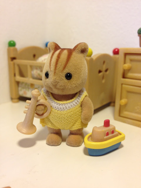 Sylvanian Families Blog Japan JP Babies Furbanks Squirrel Diorama