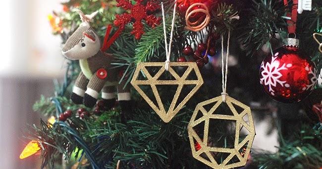 DIY Gem Ornaments