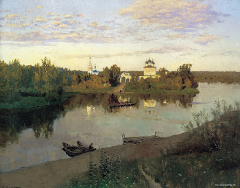 Levitan &#39;Vesper Chores&#39; (1892)