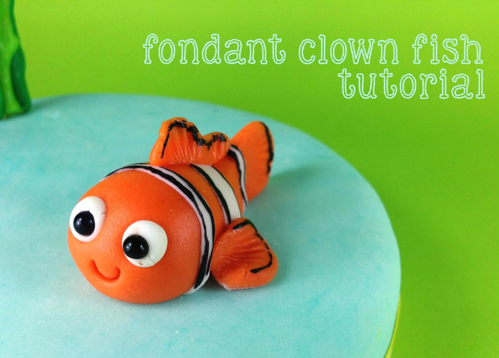 Fondant Clown Fish