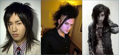 gaya rambut pria panjang alternatif